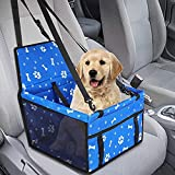 NXL Hunde Autositz Für Kleine Mittlere Hunde Hochwertiger Auto Hundesitz Für Kleine Bis Mittlere...