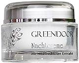 GREENDOOR Nachtcreme Bio Hibiscusblüte, vegane Hautpflege, normale trockene Haut, Naturkosmetik,...