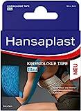 Hansaplast Kinesiologie Tape, wasserfestes Sporttape lindert Muskelschmerzen und fördert die...