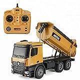 FEEE-ZC 1:14 Große Fernbedienungstechnik Spielzeugauto Legierungsauto Strandspielzeug-LKW 2,4 GHz...