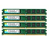DUOMEIQI 8GB Kit (4 X 2GB) 2RX8 DDR2 800MHz DIMM PC2-6300 PC2-6400 CL6 1.8v 240 Pin 6400U Non-ECC...