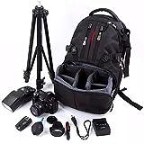 Kameratasche Nylon wasserdicht Shockproof Kamera 17inch Laptop-Tasche Objektivtasche Rucksack for...