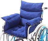 Rollstuhlkissen Rollstuhlkissen mit Rücken- und Seitenteil, Ouding Komfortkissen Sitzkissen für...