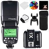 GODOX TT685O TTL 2.4G Wireless Blitz GN60 1/8000 HSS Blitzgerät Aufsteckblitz Speedlite mit X1T-O...