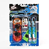 Grip & Tricks - Finger Snowboard Ski Freestyle - Pack1 Winter