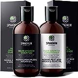 Shampoo- und Conditioner-Set für Haarwachstum - komplette natürliche Biotin und Argan-Öl...