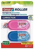 tesa Mini Korrekturroller ecoLogo - Band zur Korrektur auf Papier - Klein und ergonomisch - 6 m x 5...