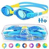 ZABERT Schwimmbrille für Kinder, K1 Schwimmbrillen Kinderschwimmbrille Chlorbrille für Jugendliche...