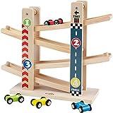 Kinder Kugelbahn Holzspielzeug, Babys Erstes Pdagogisches und Kreatives Kinderspielzeug.