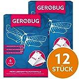 Gerobug Lebensmittel-Mottenfalle 12 Stück + E-Book zur endgültigen Mottenbekämpfung + Support vom...