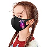 777 1 Stück Kinder Gedruckt Mundschutz mit Motiv Gesichtsschutz Mund-Nasen-Schutz Staubschutz...