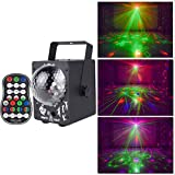 HOQTUM Family Disco Bhnenlichter Bhnenbeleuchtung Kristall Magic Ball LED...