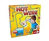 Noris 606060172 Hot Wire, das bekannte Geschicklichkeitsspiel für die ganze Familie (Batterien...