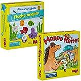 HABA 4983 - Meine ersten Spiele Fische Angeln (Fische Angeln + Hoppe Reiter)