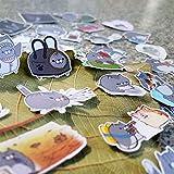JUNZE Katze Aufkleber Kreative Hand Konto Material Aufkleber Tasche Mädchen Telefon Foto Album...