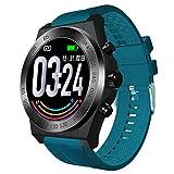 YAALO Smart Watch Bluetooth, Mit Pulsuhren IP67 wasserdichte Smartwatch Schlafmonitor Schrittzähler...