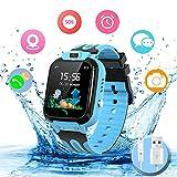 Smartwatch Kinder Wasserdicht Kids Smart Watches Phone Uhr für Kinder Jungen Smartwatch Mädchen...