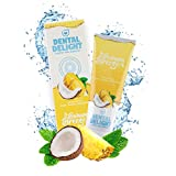 DENTAL DELIGHT Bahama Breeze | fruchtige Zahnpasta Ananas-Kokos Geschmack | klimaneutral ohne...