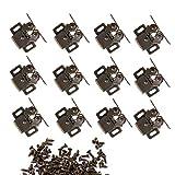 NewZC Möbelschnäpper 12 Stück Doppel-Rollenschnäpper Möbel Schnäpper Rollenschnäpper...