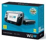 Nintendo Wii U - Konsole, Premium Pack, 32 GB, schwarz mit Nintendo Land