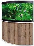 Aquariumkombination Fluval Venezia 350 mit LED Beleuchtung, Heizer, Filter und Unterschrank...