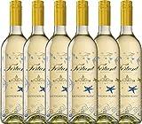 VINELLO 6er Weinpaket Weißwein - Sauvignon Blanc serigrafiert 2018 - Fortant de France mit...