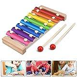 Xylophon für Kinder, Jooheli Musikspielzeug Schlagzeug Schlagwerk, Spielzeug Xylophon mit...