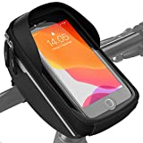 Velmia Fahrrad Lenkertasche Wasserdicht - Fahrrad Handyhalterung ideal zur Navigation -...