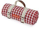 Good Gain Picknickdecke, wasserdicht, tragbar, mit Trageriemen für Strandmatte oder Familie,...