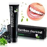 Aktivkohle Zahnpasta, Natürliche Zahnaufhellung Zahnpasta, Zahnpasta Weisse Zähne zur Beseitigung...