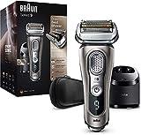 Braun Series 9 9365cc Elektrischer Rasierer, wiederaufladbar und kabellos, Graphit, Ladestation und...