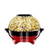 Gadgy Popcornmaschine l 800W Popcorn Maker mit Antihaftbeschichtung und Abnehmbares Heizflche l...