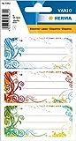 HERMA 5982 Buchetiketten 'Spirit' selbstklebende Heftetiketten mit Motiven für die Schule für...