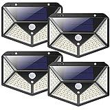 Solarlampen für Außen,【2200mAh Super Energiesparend】iPosible 100LED Solarleuchte mit...