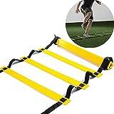 Koordinationsleiter Sport Trainingsleiter Training Ladder 12 Rung für Fußball 6 Meter Beinkraft...