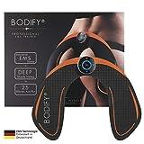Bodify EMS Trainingsgerät zur gezielten Stimulation der Po Muskulatur! - Muskelaufbau - EMS...