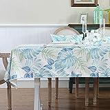 HXRA Tischdecken Outdoor-Tischdecken Tischdecke Teetisch Tischdecke Stoff Baumwolle Leinen...