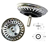 ProKIRA Universal Siebkrbchen 3,5 Zoll (80mm), fr Splen mit Handbedienung/Edelstahl