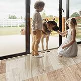 Brostuhlunterlage Bodenschutzmatte | Bodenmatte Stuhlunterlage | Transparent | Strke: 1,5 mm | Viele...