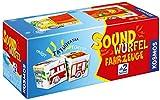 KOSMOS 697372 - Soundwürfel Fahrzeuge, Lernspielzeug mit Geräuschen, für Kinder ab 2 Jahre,...
