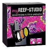 ARKA Aquatics MyReef Studio - Smartphone Filter & Makro-Linse für farbenprächtige detailreiche...