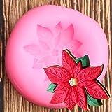 FGHHT Blumensilikonform Hochzeit DIY Kuchen DekorationswerkzeugeBacken Keks Pralinen Formen