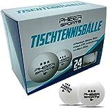 PHIBER-SPORTS Premium Tischtennisbälle 3 Stern [24 Stück] – Perfekte Spieleigenschaften - Ideal...