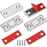 Türmagnet Selbstklebend Jiayi 2 Stück Tür Magnete für Schranktüren Ultra Dünn Möbel...