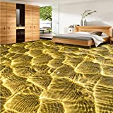 BOMDOW 3D stereo wallpaper Wind wall custom bedroom living room flooring Floor stickers wallpaper...