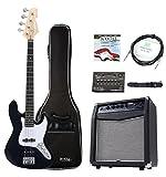 Rocktile Fatboy II E-Bass Starter Bundle Komplettset 7-teilig: Bass/Bass Gitarre,...