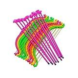 STOBOK 24 Stücke Pfeil und Bogen Set Bogenschießen Spiel für Kinder mit Saugnapf (zufällige...