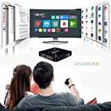 LOISK X88 Pro TV Box Android 9.0-System RK3368 4GB+32/64/128GB 4K HD H.265 BT 4.0 1080P USB3.0...