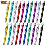MPIO Universal Stylus Stift Eingabestift Touchstift 23 Stcke Kapazitive Touch Pen mit Gummispitze fr...