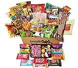 50 japanische Süßigkeiten 10 japanische Kit Kat 30 Snack und Süßigkeiten plus 10 harte...